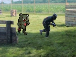 Zombiebear approves Paintball, too